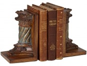 67% off Peoria Pillar Bookends Set