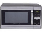 $78 off Emerson 1.3 cu ft 1000W Stainless Microwave Oven, Refurb