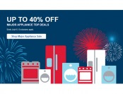 Up to 40% off Major Appliances at Best Buy