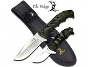 "74% off Elk Ridge ER-532CA Fixed Blade Knife Set (9.5"" and 6.25"")"