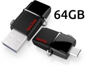 57% off SanDisk Ultra 64GB USB 3.0 OTG Flash Drive w/ micro USB