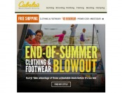 Cabela's End of Summer Footwear & Clothing Blowout Sale