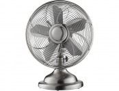"48% off Insignia 12"" Stainless-Steel Retro Table Fan"
