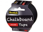 85% off Scotch Chalkboard Tape, White, 1.88-Inch x 5-Yard