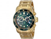 88% off Invicta Pro Diver 18k Gold-Plated Chronograph Watch