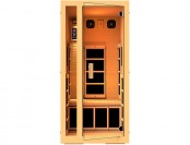 $1,363 off JNH Lifestyles Joyous 1 Person Far Infrared Sauna
