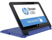 "$84 off HP 11.6"" Stream X360 Touchscreen Laptop PC, Blue"