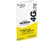 $9 off H2O Wireless 3-in-1 4G LTE SIM Card