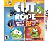 $13 off Cut the Rope: Triple Treat - Nintendo 3DS Video Game