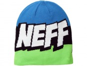 79% off Neff Men's Cartoon Beanie, Digi/Teal/Black