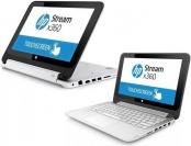 "$84 off HP 11.6"" Stream X360 Touchscreen Laptop PC, White"