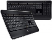 50% off Logitech Wireless Illuminated Keyboard K800