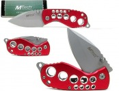 62% off Whetstone 440 Stainless Red Devil Folder Pocket Knife