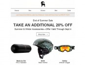 Extra 20% off Summer & Winter Accessories at Backcountry