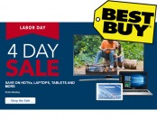 Best Buy 4-Day Labor Day Sale - HDTVs, Laptops, Tablets & More