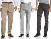 60% off Men's Pants from Levi's, Haggar, IZOD, Lee, Kenneth Cole...