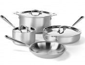$568 off All-Clad MC2 Professional Master Chef 7pc Cookware Set