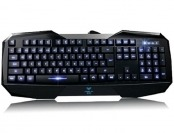 57% off AULA LED Illuminated USB Multimedia Gaming Keyboard