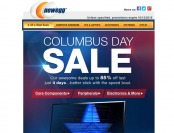 Newegg Columbus Day Sale - Up to 85% off Electronics & More