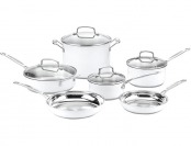 $345 off Cuisinart CSMW-10 Chef's Classic 10-Pc Cookware Set