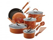 $208 off Cucina Porcelain Enamel Nonstick 12-Pc Cookware Set