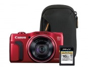 $100 off + Free Bag & Memory Card w/ PowerShot SX710 Digital Camera
