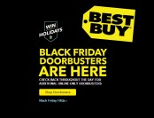 Best Buy Black Friday DoorBuster Deals - Available Now