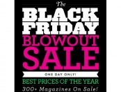 DiscountMags Black Friday Deals, 300+ Titles on Sale