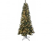 $233 off Life Like 7.5 ft Fir Christmas Tree, Green