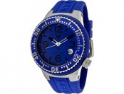 $375 off Swiss Legend Neptune Blue Silicone Men's Watch