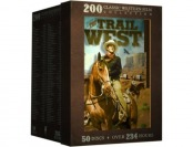 $61 off The Trail West: 200 Classic Western Films (50 discs) DVD