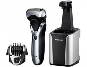 $50 off Panasonic ES-RT97-S Men's Electric Shaver and Trimmer with Cleaning System, Silver