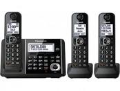 $50 off Panasonic KXTGF343B Dect 3-Handset Landline Telephone