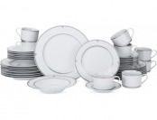 $553 off Mikasa Porcelain 40-Pc Regent Bead Dinnerware Set