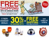 ThinkGeek Cyber Monday Sale: 30% off + Free Shipping No Minimum