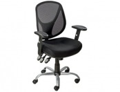 57% off Staples Acadia Ergonomic Mesh Task Mid-Back Chair