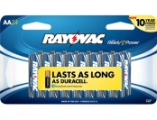 58% off Rayovac 815-24SCTF AA Batteries (24-pack)