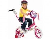 "$68 off Schwinn Petunia 12"" Steerable Girls' Bike"