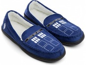 60% off Doctor Who TARDIS Moccasin Slippers