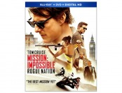63% off Mission: Impossible - Rogue Nation Blu-Ray + DVD Combo