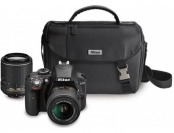 $503 off Nikon D3300 24.2 MP DX-Format DSLR Camera 2-Lens Kit