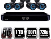 $130 off Night Owl 4-Ch Smart HD Video Security System B-A720-41-4