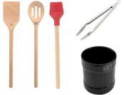 70% off Guy Fieri 5 Piece Tool Crock Set