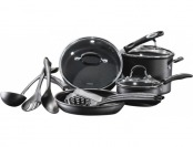 $100 off Cuisinart Pro Classic 13-pc Hard Anodized Cookware Set - Black