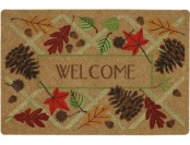 75% off Mohawk Home Brown Rectangular Door Mat