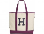 44% off Tommy Hilfiger Varsity Large Canvas Tote