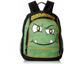 87% off Mystic Apparel Ahh Monster Backpack, Green