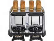 84% off Proctor Silex Commercial 4-slice Wide-slot Chrome Toaster