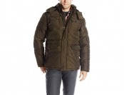 81% off English Laundry Men's Memory Bubble Jacket with Hood