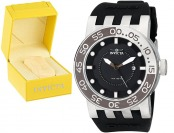 $740 off Invicta 12422 DNA Black Dial Black Silicone Men's Watch